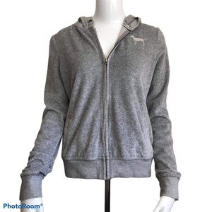 Victoria's Secret PINK Full Zip Hoodie Sweatshirt